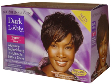 Cheveux defrises dark-lovely-super