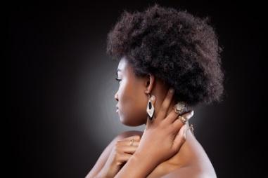 cheveux crepus