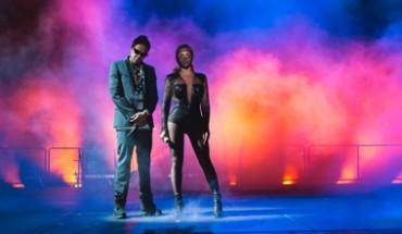 Beyoncé et jay z en concert