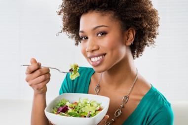 femme noire et régime