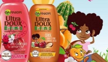 garnier enfant shampooing