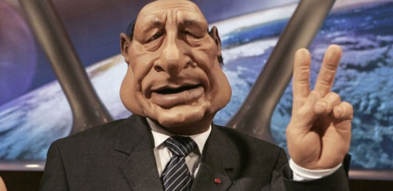 Les-Guignols de l info marionnette-de-Chirac