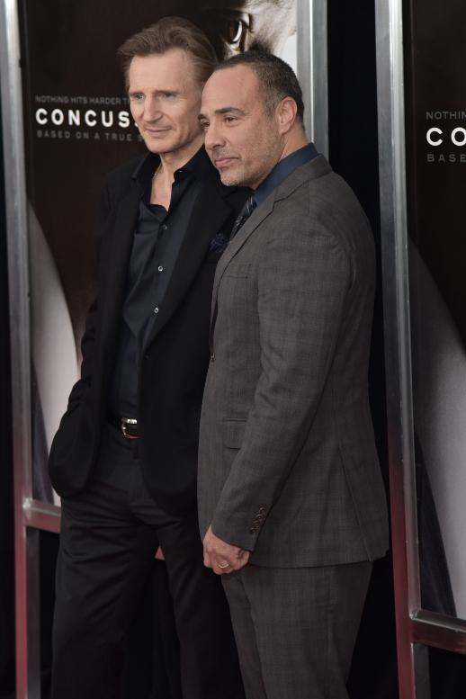 "12/17/2015 - Liam Neeson, Peter Landesman - ""Concussion"" New York City Premiere - Arrivals - AMC Loews Lincoln Square - New York City, NY, USA - Keywords: Orientation: Portrait Face Count: 1 - False - Photo Credit: Loredana Sangiuliano / PRPhotos.com - Contact (1-866-551-7827) - Portrait Face Count: 1"