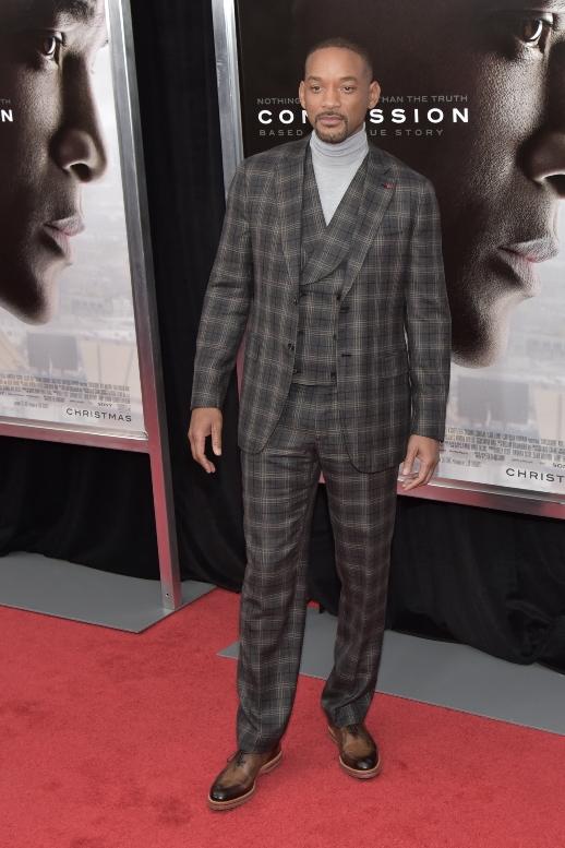 "12/17/2015 - Will Smith - ""Concussion"" New York City Premiere - Arrivals - AMC Loews Lincoln Square - New York City, NY, USA - Keywords: Orientation: Portrait Face Count: 1 - False - Photo Credit: Loredana Sangiuliano / PRPhotos.com - Contact (1-866-551-7827) - Portrait Face Count: 1"