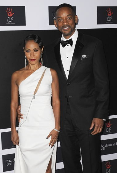 12/10/2015 - Jada Pinkett Smith and Will Smith - 2nd Annual Diamond Ball Hosted by Rihanna and the Clara Lionel Foundation - Arrivals - The Barker Hanger - Santa Monica, CA, USA - Keywords: Orientation: Portrait Face Count: 2 - - Photo Credit: David Gabber / PRPhotos.com - Contact (1-866-551-7827) - Portrait Face Count: 2