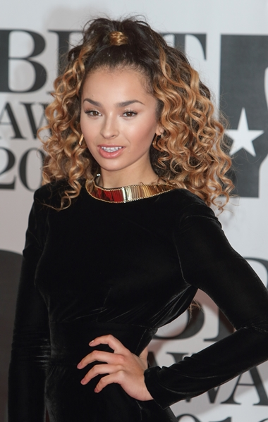 02/24/2016 - Ella Eyre - BRIT Awards 2016 - Arrivals - O2 Arena - London, UK - Keywords: Vertical, Red Carpet Arrival, Attending, Topics, Music, Award, England, United Kingdom, Britain, British, Red Carpet Event, Arts Culture and Entertainment, Topix, Bestof, Celebrity, Celebrities, Person, People, Ref: LMK73-60035-250216 Orientation: Portrait Face Count: 1 - False - Photo Credit: Landmark / PR Photos - Contact (1-866-551-7827) - Portrait Face Count: 1