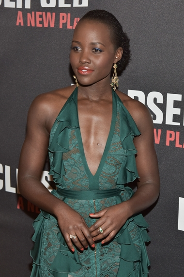 "03/06/2016 - Lupita Nyong'o - ""Eclipsed"" Broadway Opening Night After Party - Arrivals - Gotham Hall - New York City, NY, USA - Keywords: Orientation: Portrait Face Count: 2 - - Photo Credit: Loredana Sangiuliano / PRPhotos.com - Contact (1-866-551-7827) - Portrait Face Count: 2"