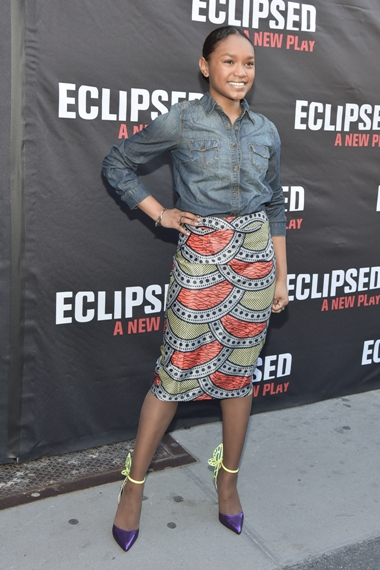 "03/06/2016 - Eden Duncan-Smith - ""Eclipsed"" Broadway Opening Night After Party - Arrivals - Golden Theatre - New York City, NY, USA - Keywords: Orientation: Portrait Face Count: 1 - - Photo Credit: Loredana Sangiuliano / PRPhotos.com - Contact (1-866-551-7827) - Portrait Face Count: 1"