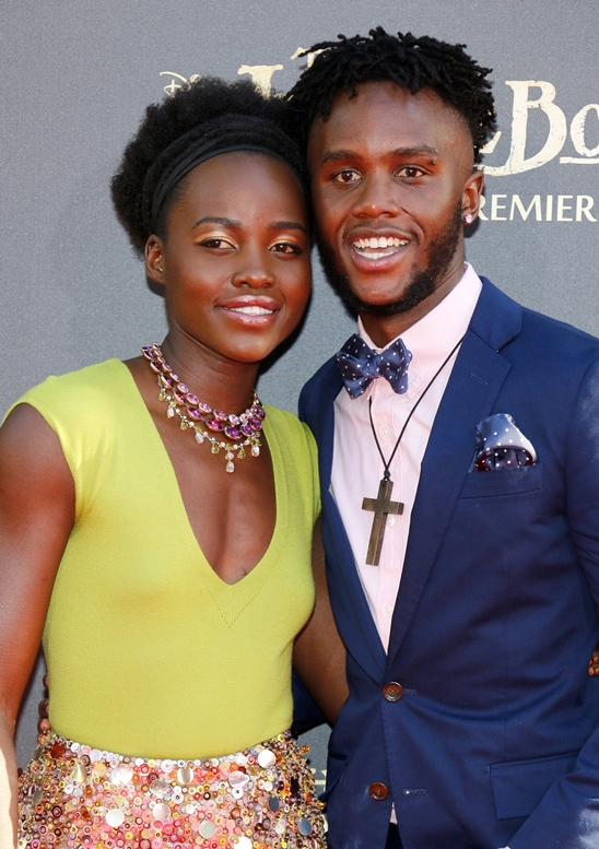 "04/04/2016 - Lupita Nyong'o and Peter Nyong'o - ""The Jungle Book"" Los Angeles Premiere - Arrivals - El Capitan Theatre - Hollywood, CA, USA - Keywords: Orientation: Portrait Face Count: 1 - False - Photo Credit: David Gabber / PRPhotos.com - Contact (1-866-551-7827) - Portrait Face Count: 1"