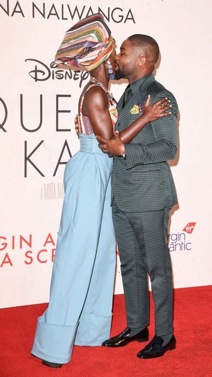 "10/09/2016 - Lupita Nyong'o and David Oyelowo - 60th Annual BFI London Film Festival - ""Queen of Katwe"" Premiere - Arrivals - Odeon Leicester Square - London, UK - Keywords: Vertical, LFF, Disney, London Film Festival, Biography, Drama, Sport, Chess, People, Person, Film Industry, Red Carpet Event, Arts Culture and Entertainment, Attending, Celebrity, Celebrities, Annual Event, United Kingdom, Britain, England, Ref: LMK392 -61100-101016 Orientation: Portrait Face Count: 1 - False - Photo Credit: Landmark / PR Photos - Contact (1-866-551-7827) - Portrait Face Count: 1"
