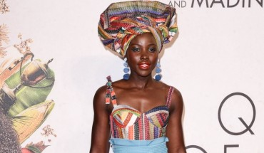 """10/09/2016 - Lupita Nyong'o - 60th Annual BFI London Film Festival - """"Queen of Katwe"""" Premiere - Arrivals - Odeon Leicester Square - London, UK - Keywords: Vertical, LFF, Disney, London Film Festival, Biography, Drama, Sport, Chess, People, Person, Film Industry, Red Carpet Event, Arts Culture and Entertainment, Attending, Celebrity, Celebrities, Annual Event, United Kingdom, Britain, England, Ref: LMK392 -61100-101016 Orientation: Portrait Face Count: 1 - False - Photo Credit: Landmark / PR Photos - Contact (1-866-551-7827) - Portrait Face Count: 1"""