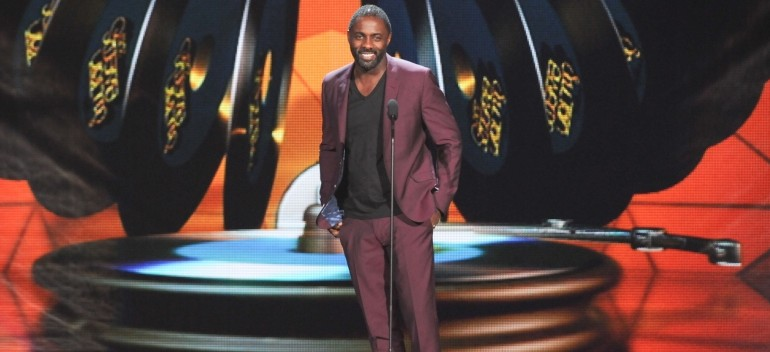 11/08/2013 - Idris Elba - Soul Train Awards 2013 - Show - Orleans Arena - Las Vegas, NV, USA - Keywords: stage, actor, presenter Orientation: Portrait Face Count: 1 - False - Photo Credit: Aaron J. Thornton / PR Photos - Contact (1-866-551-7827) - Portrait Face Count: 1